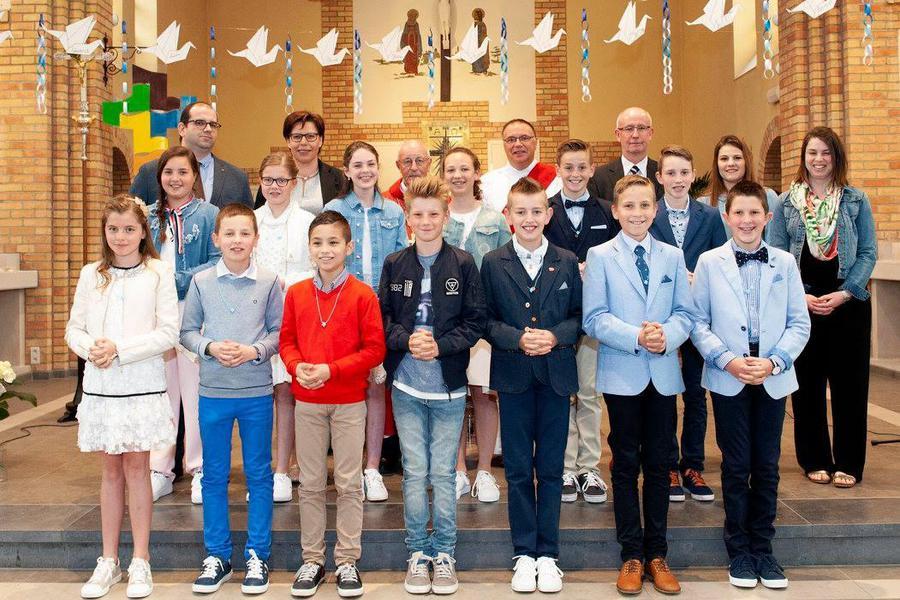 Vormelingen Sint-Elooi 2018
